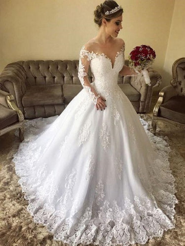 Hot Sale Classy Lace Long Sleeves Country Off Shoulders Wedding Dress,GDC1128
