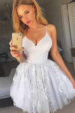 Cute White Tulle Mini Short Prom Dress,Short Homecoming Dress,Sweet 16 Dress,GDC1291-Dolly Gown