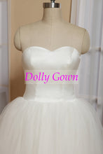 Retro Tulle Strapless Vintage 50s Style Rockabilly Wedding Dress Tea Length,DO008-Dolly Gown