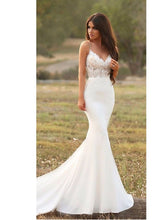 Discount Rustic Mermaid See Through Encaje Wedding Dress,GDC1210-Dolly Gown