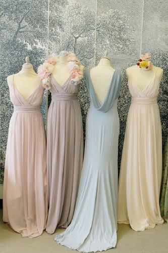 Boho Bridesmaid Dresses,Pastel Bridesmaid Dresses,Bridesmaid Dresses Boho,Beach Bridesmaid Dresses,Long Bridesmaid Dresses,FS070