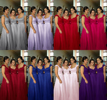 Purple Bridesmaid Dresses,Bridesmaid Dresses Purple,Lace Top Bridesmaid Dresses,Long Bridesmaid Dresses,Robe De Demoiselle D'Honneur,FS072