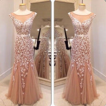 Lace Prom Dress, Dark Champagne Prom Gown,2021 Prom Dress,Ballkleider Lang,MA132-Dolly Gown