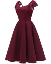 Luscious Short Maroon Prom Dress for Teens with Ruffle Straps,Homecoming Dress,1626B