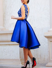 Royal Blue Prom Dress,Short Prom Dress,Blue Homecoming Dress,Short Formal Dresses,MA027