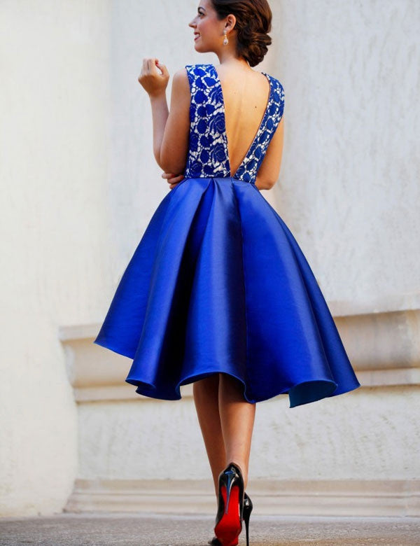0952d91396a ... Royal Blue Prom Dress