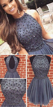 Grey Homecoming Dress, Short Homecoming Dress,Short Prom Dress,Graduation Dress,MA032