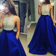 Royal Blue Prom Dress Sparkly Prom Dress 2021 Prom Dress Graduacion,MA045-Dolly Gown