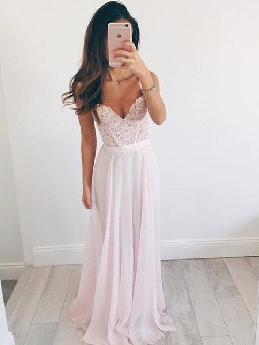 Pink Bridesmaid Dresses Pink Prom Dress Pink Formal Dresses Maid of Honor Dresses FS066-Dolly Gown