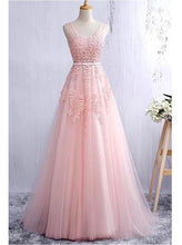 Pink Prom Dress A-line Party Senior Graduation Formal Gown ,GDC1155-Dolly Gown