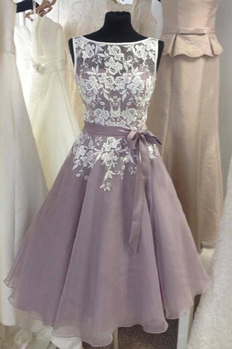 Tea Length Vintage Bridesmaid Dresses 1950's Bridesmaid Dresses Short Lace Top Bridesmaid Dresses,FS048
