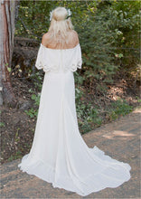 Boho Wedding Dress, Wedding Dress Boho,Off Shoulder Wedding Dress,Bohemian Wedding Dress,WD008