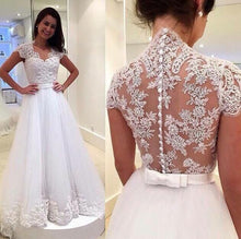 Princess Wedding Dress Tulle Wedding Dress Lace Wedding Dress WS047-Dolly Gown