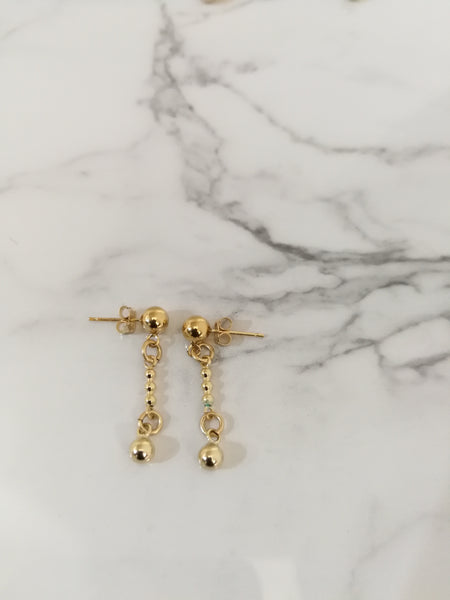 Esmee Crystal Drop Earrings