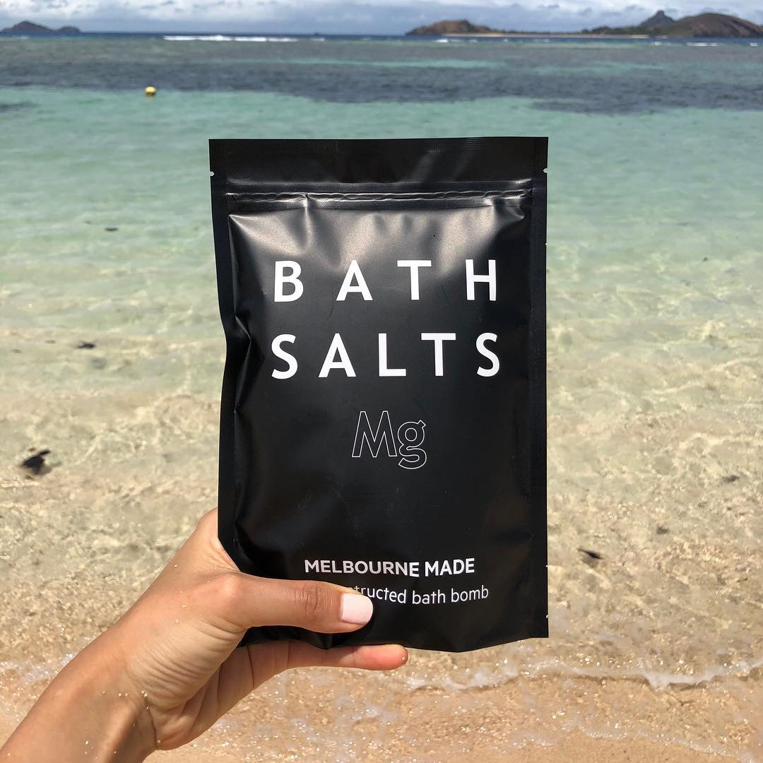 Soak away the stress with Salt Lab's Magnesium Bath Salts