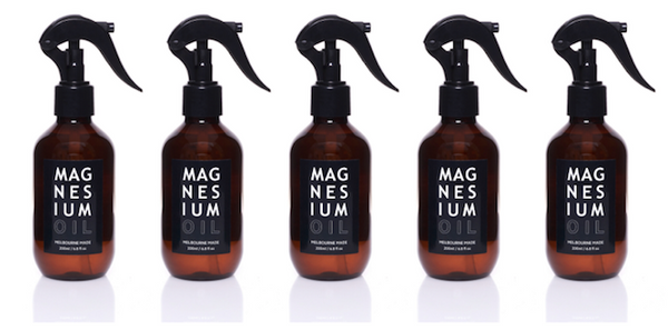 5 x 200ml Magnesium Oil Bundle