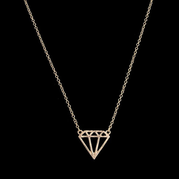 Geometric Diamond Shaped Necklace