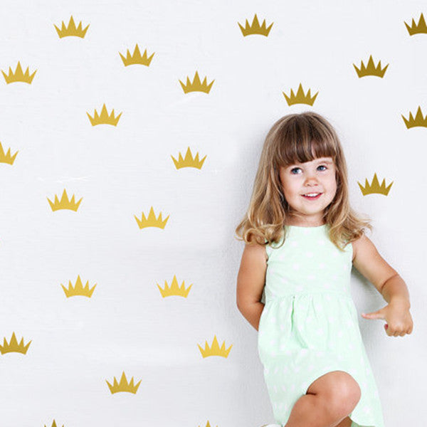 Princess Crown Wall Decal