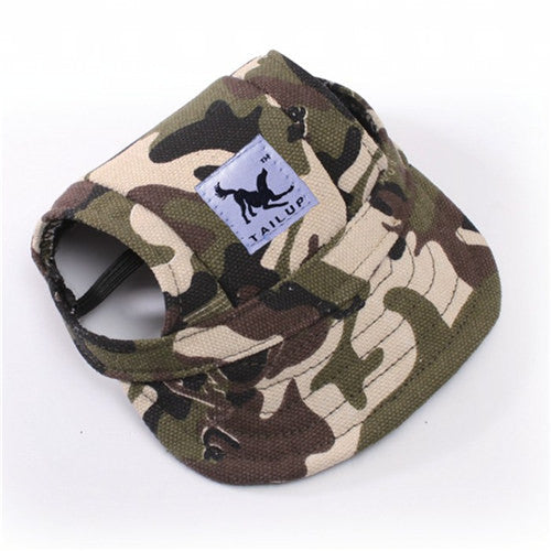 Dog Canvas Cap