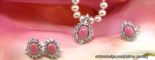 conch pearl jewelry
