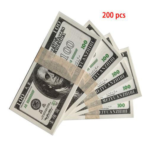 200 Pcs Ancestor Money to Burn Million Dollar Chinese Joss Paper Heaven Bank Notes Ghost Money 2.95 x 6.1 inches