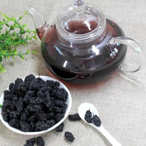 JQ Teas Black Mulberry 500g Chinese Various Health-enhancing Herbal Tea Health Tea Fruit Tea Scented Tea Flowertea