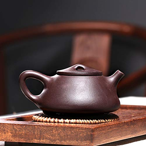 Chinese Yixing Purple Clay Handmade Tea Pot Zisha Zi Ni Teapot (子冶石瓢)