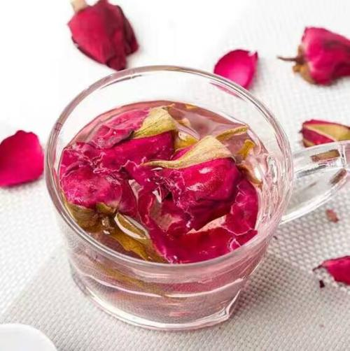 JQ Herbal Teas Sampler Rosa Chinensis China Rose Yueji Chinese Various Health-enhancing Herbal Tea Health Tea Fruit Tea Scented Tea Flower tea 500g