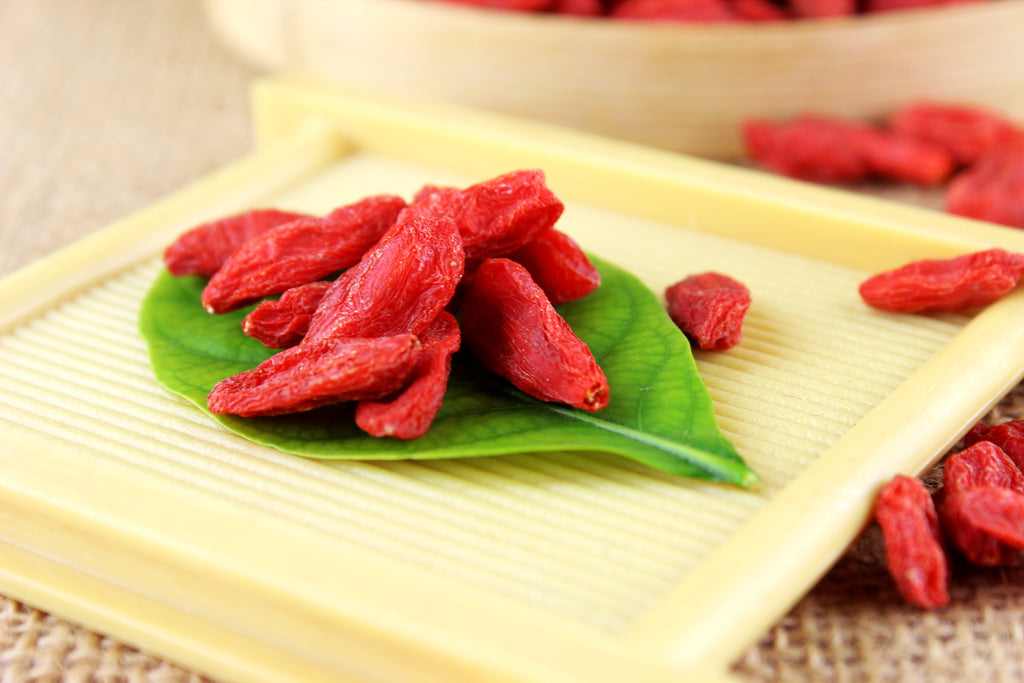 JQ Organic wolfberry Red Goji Berry 1000g Lycium chinense Ningxia Lycium barbarum Anthocyanidins Tea
