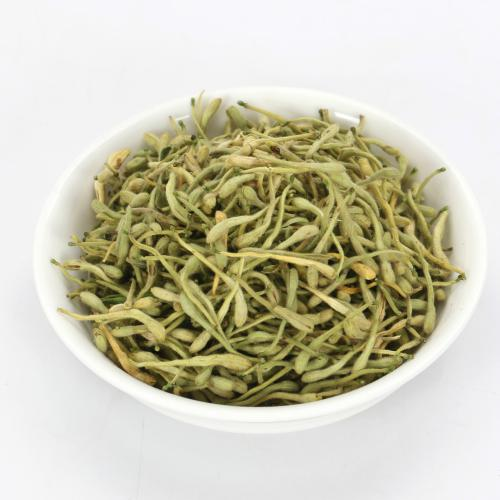 JQ Dried Honeysuckle Tea Herbal Flower Tea Jinyin Hua Loose Leaf Delicious Sweet Refreshing Beautiful Flower Clear Away 500g  Overheating