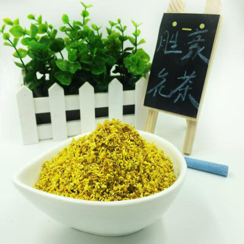 JQ Tea Sampler Dried Osmanthus Buds Tea 250g Herbal Flower Tea Loose Leaf Reduce Eye Dryness 36 Flavor Assortment