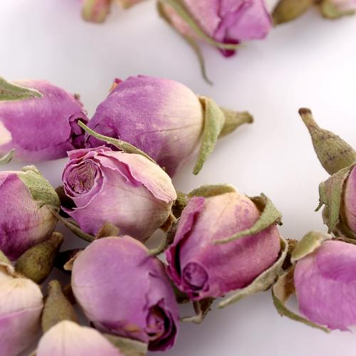 JQ Herbal Teas Sampler Pink Rose Buds Tea 250g