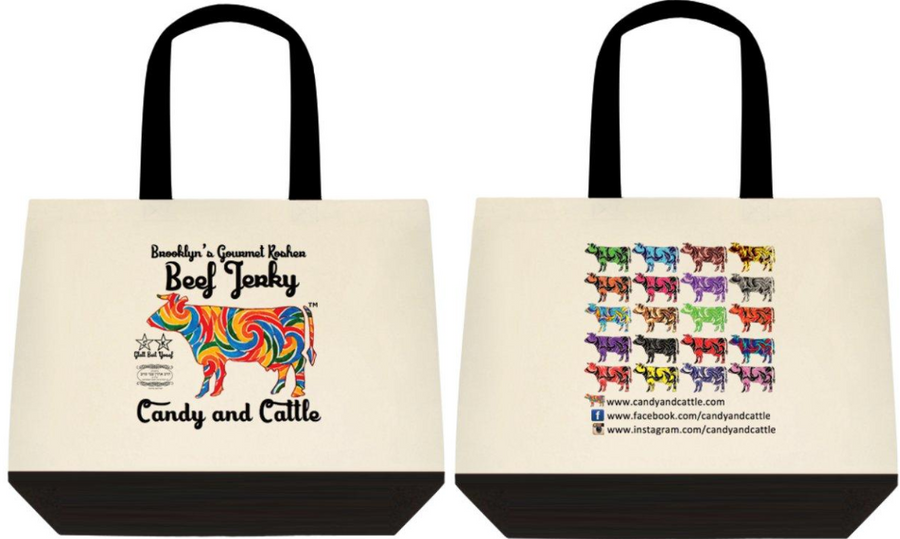 Candy and Cattle Tote Bag