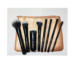 Brush'D 8 piece set with travel pouch