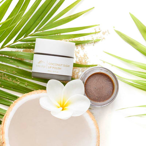 Coconut Sugar Lip Polish - Coconut Lime Blossom