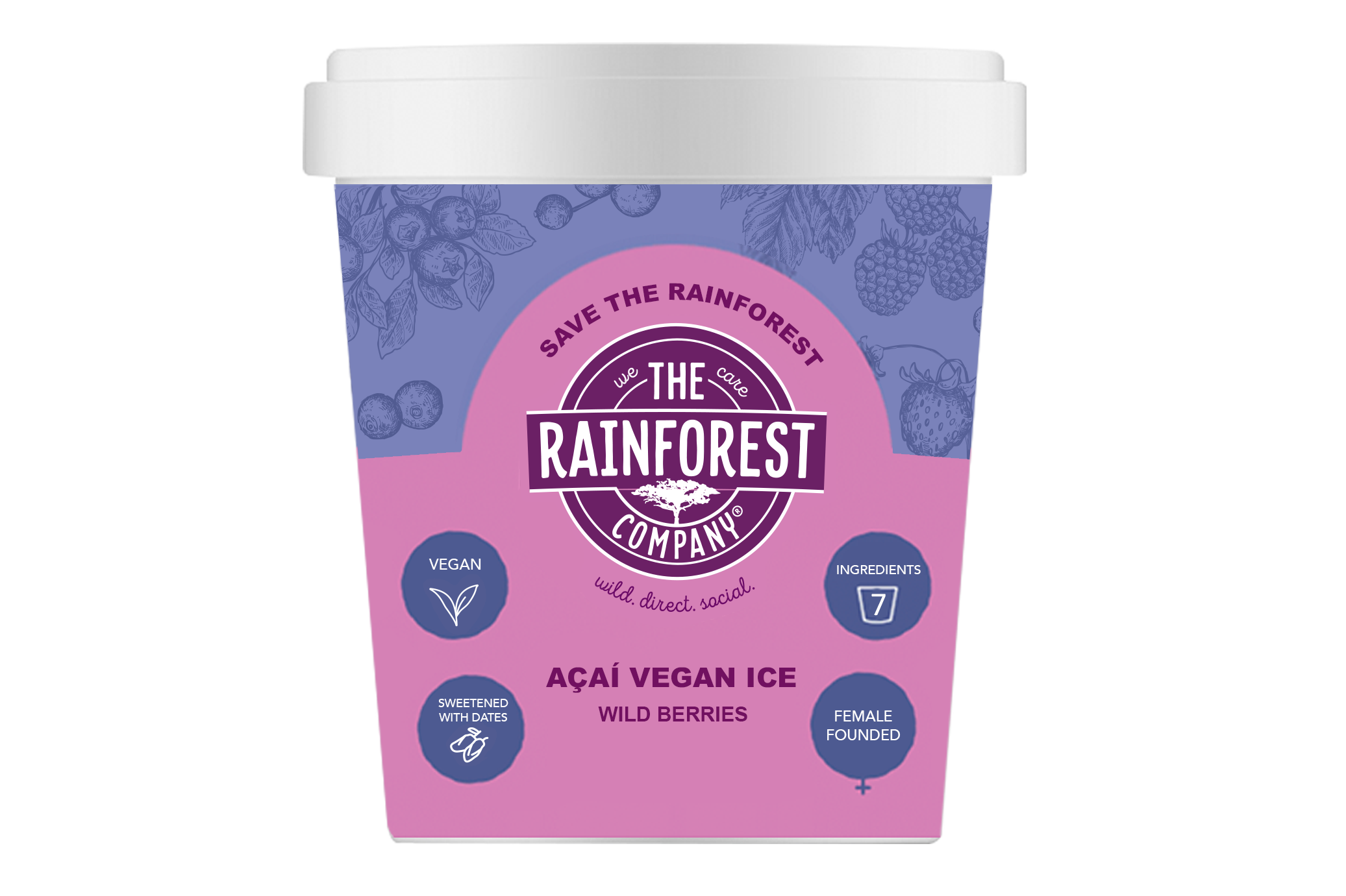 Acai Vegan Ice Wild Berries