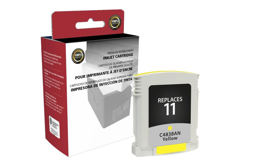 Yellow Ink Cartridge for HP C4838A (HP 11)