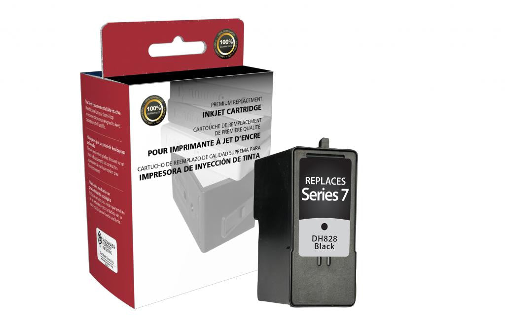 High Yield Black Ink Cartridge for Dell Series 7