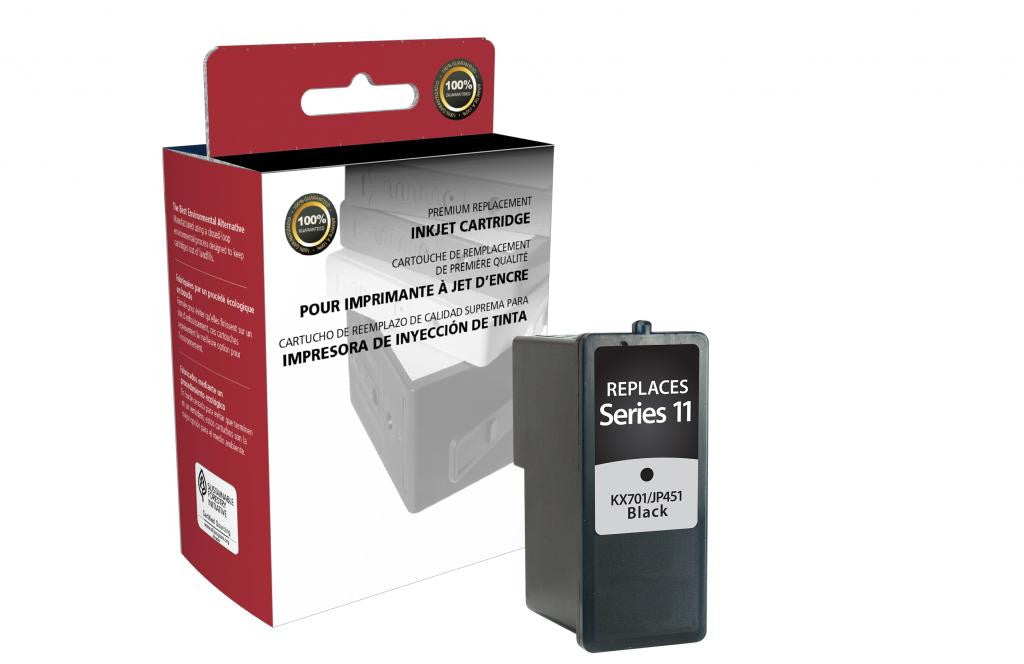 High Yield Black Ink Cartridge for Dell Series 11