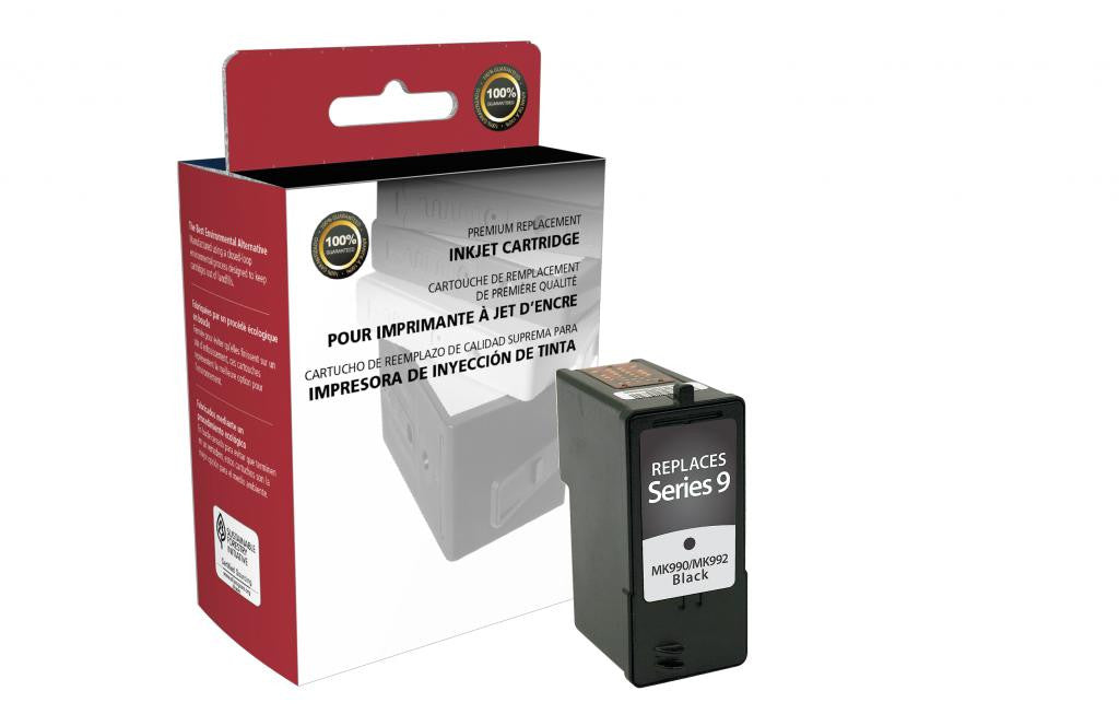High Yield Black Ink Cartridge for Dell Series 9