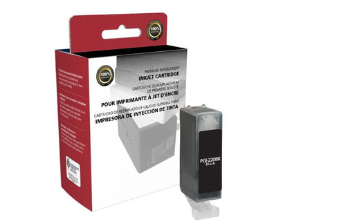 Black Ink Cartridge for Canon PGI-220