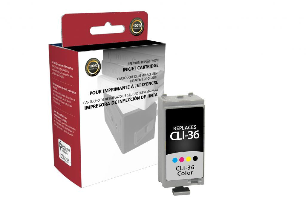 Color Ink Cartridge for Canon CLI-36
