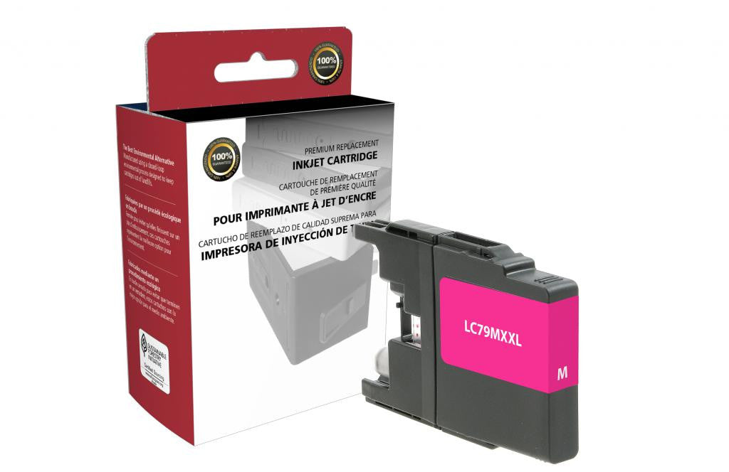 Extra High Yield Magenta Ink Cartridge for Brother LC79