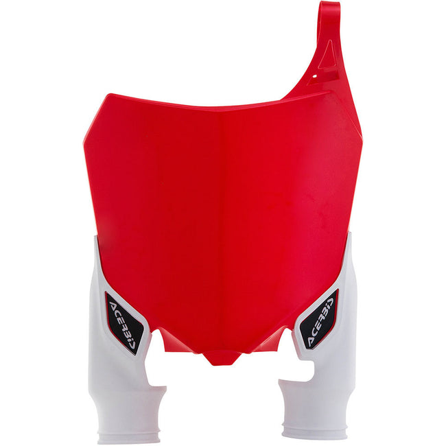 ACERBIS HONDA CRF RAPTOR RED/WHITE FRONT PLATE