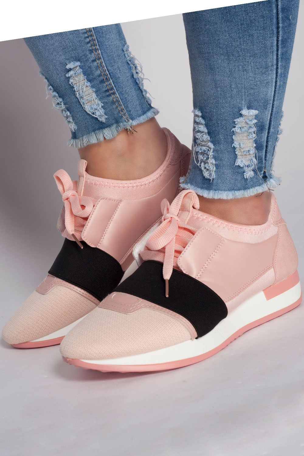 Pink Gym trainers