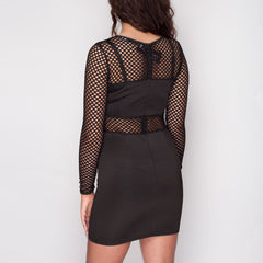Bodycon party Black Mini dress styledup