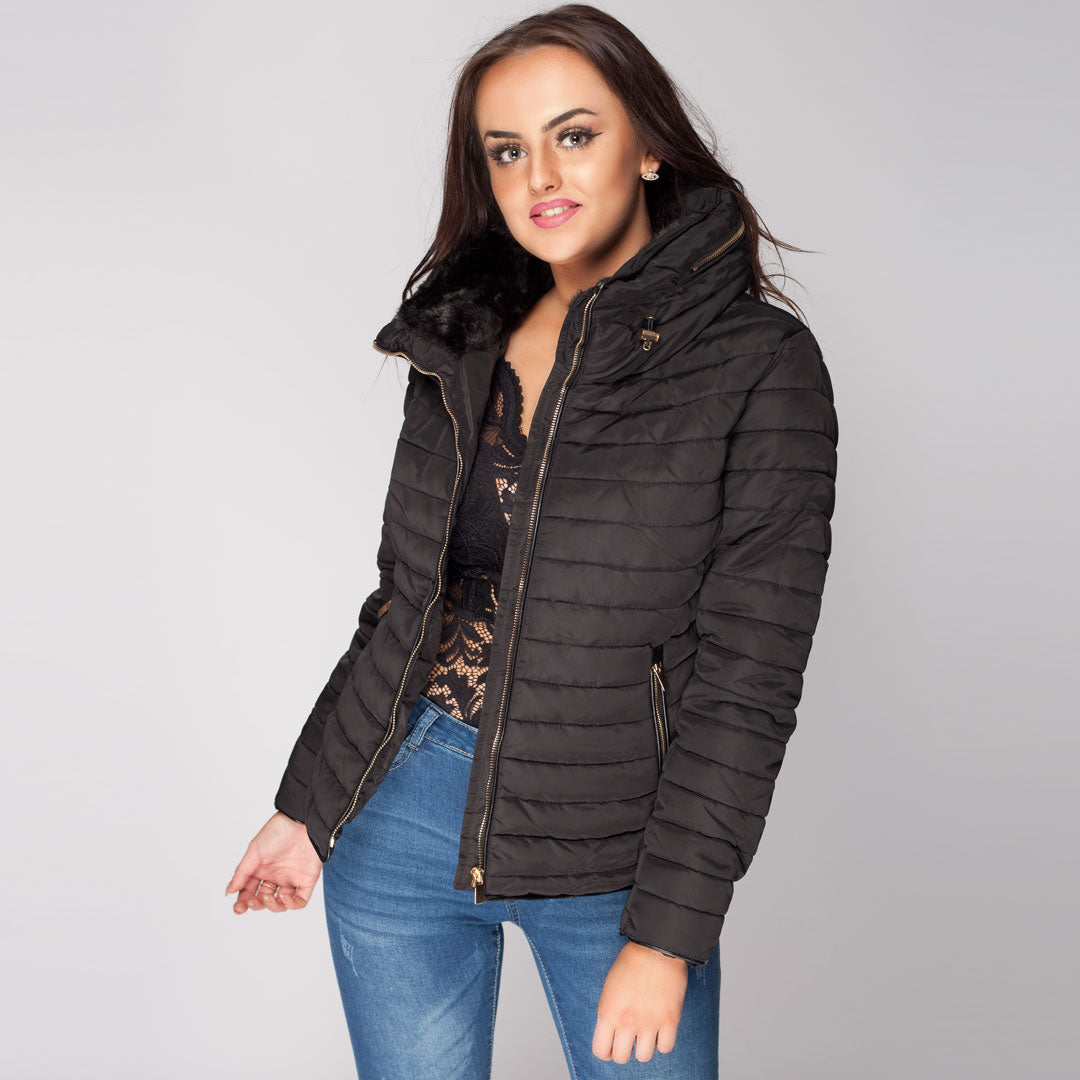 3f33be3c9eb Womens Quilted Puffer Jacket New Collection SS2018 – Styledup.co.uk