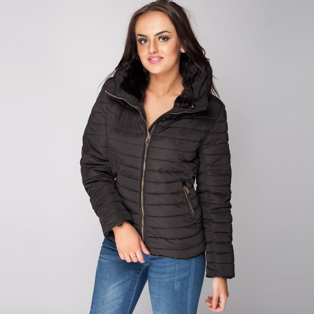 Womens Quilted Puffer Jacket New Collection SS2018 – Styledup.co.uk 8439833b70