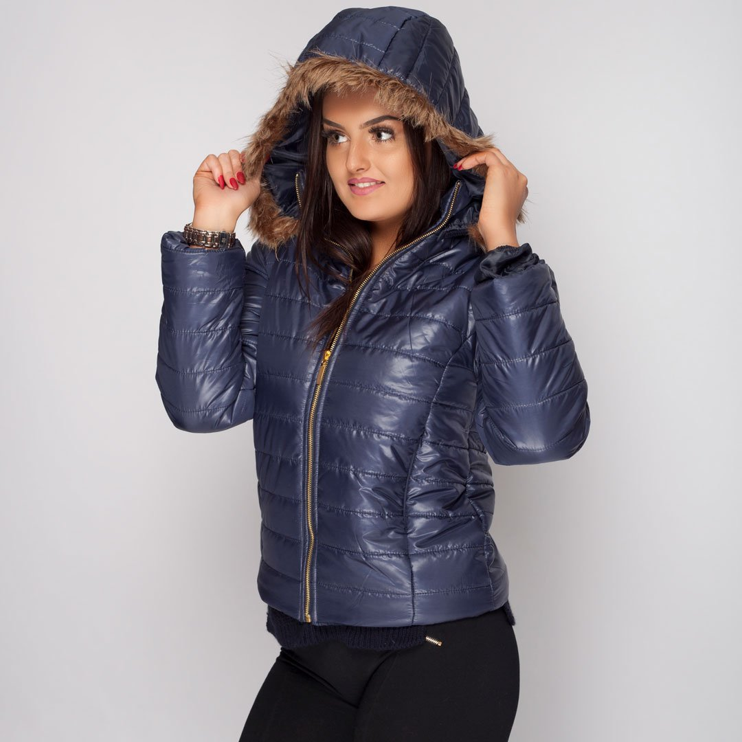 Womens Coat winter Navy