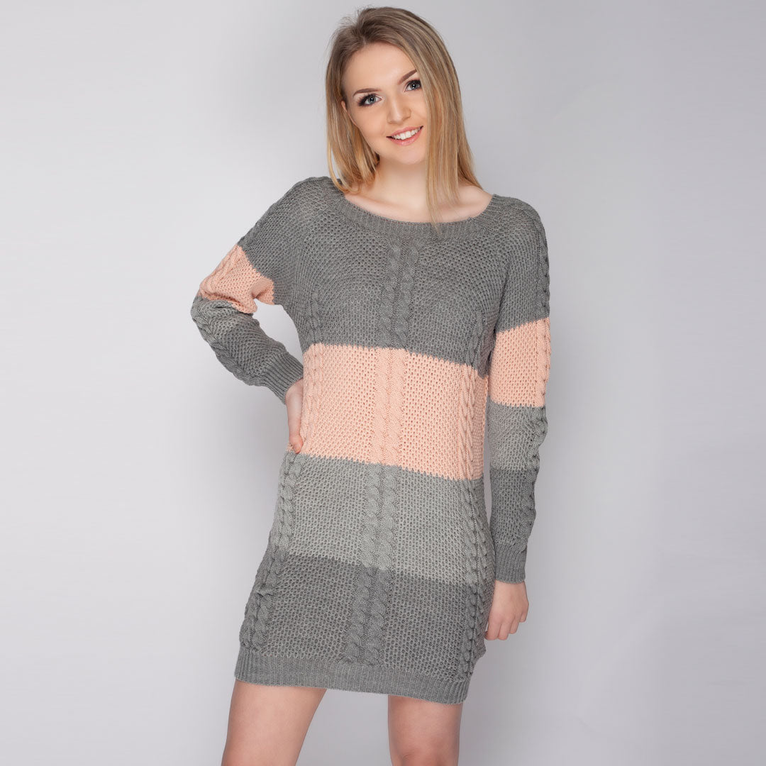 Ladies Oversized knitted Jumper